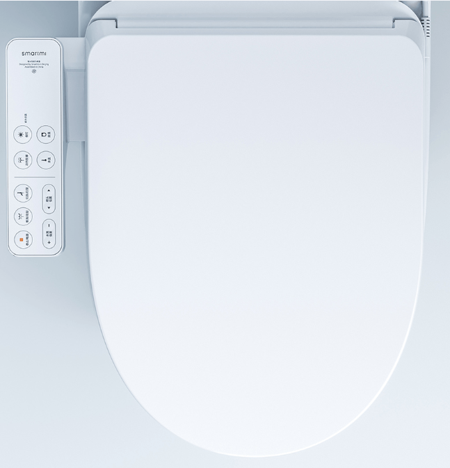Asiento de inodoro el/éctrico digital inteligente FDB600 con tecnolog/ía de ahorro de energ/ía respetuoso con el medio ambiente Normal-EU FLORYEU