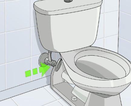 Instalación tipo toma de agua fría